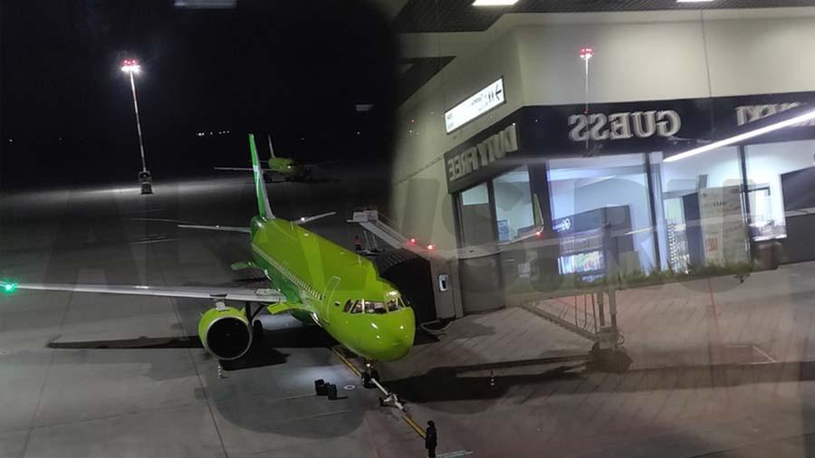 Самолет - вылет в отпуск