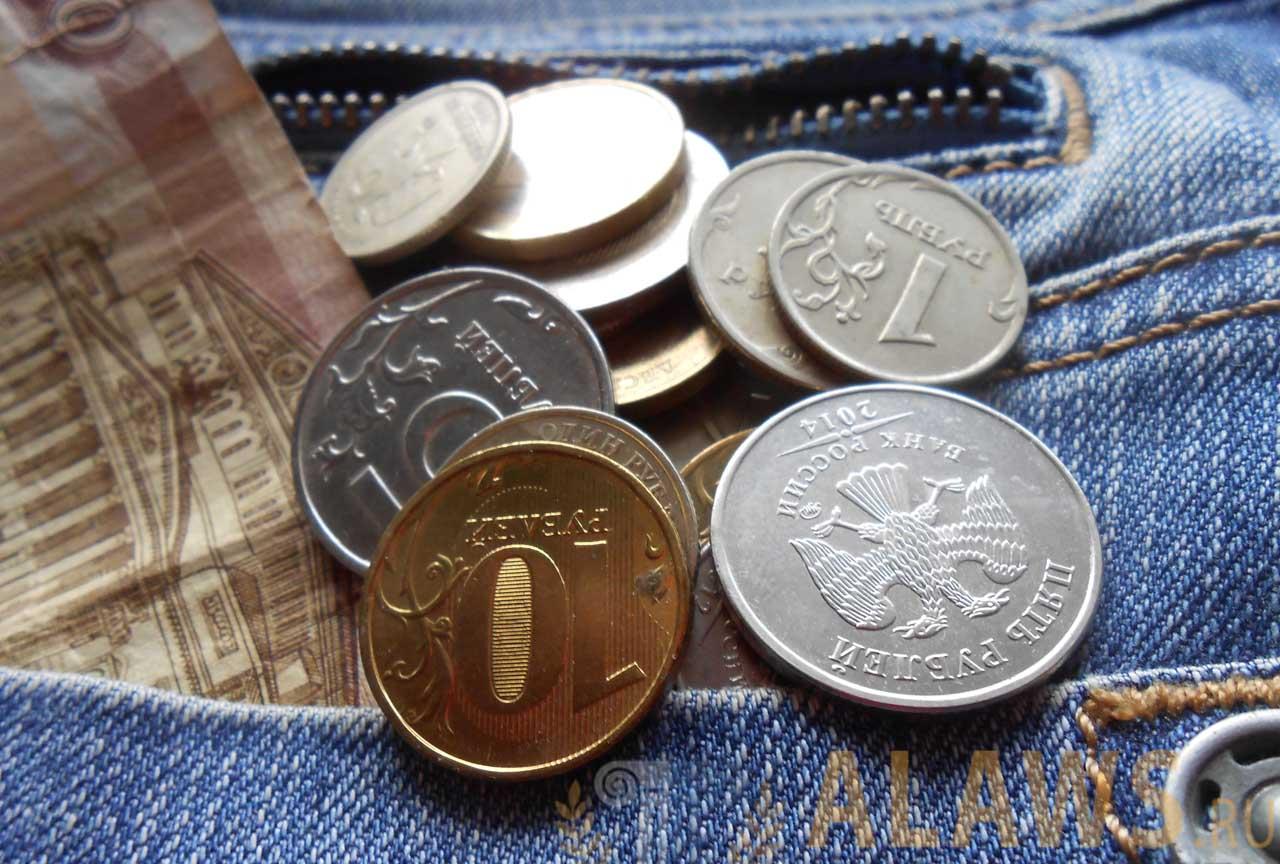 Монеты с возврата НДФЛ